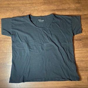 Everlane black Box Cut T Shirt - M